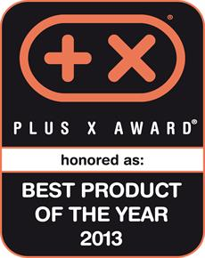 Plus X Award 2013 Best Product of the Year