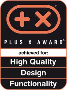 Plus X Award High Quality, Design, Functionality